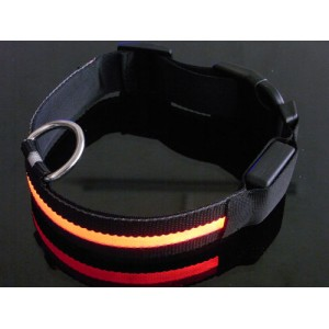 Collier chien led lumineux