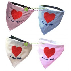 Bandana pour chien, Love Me, Doggy Dolly®