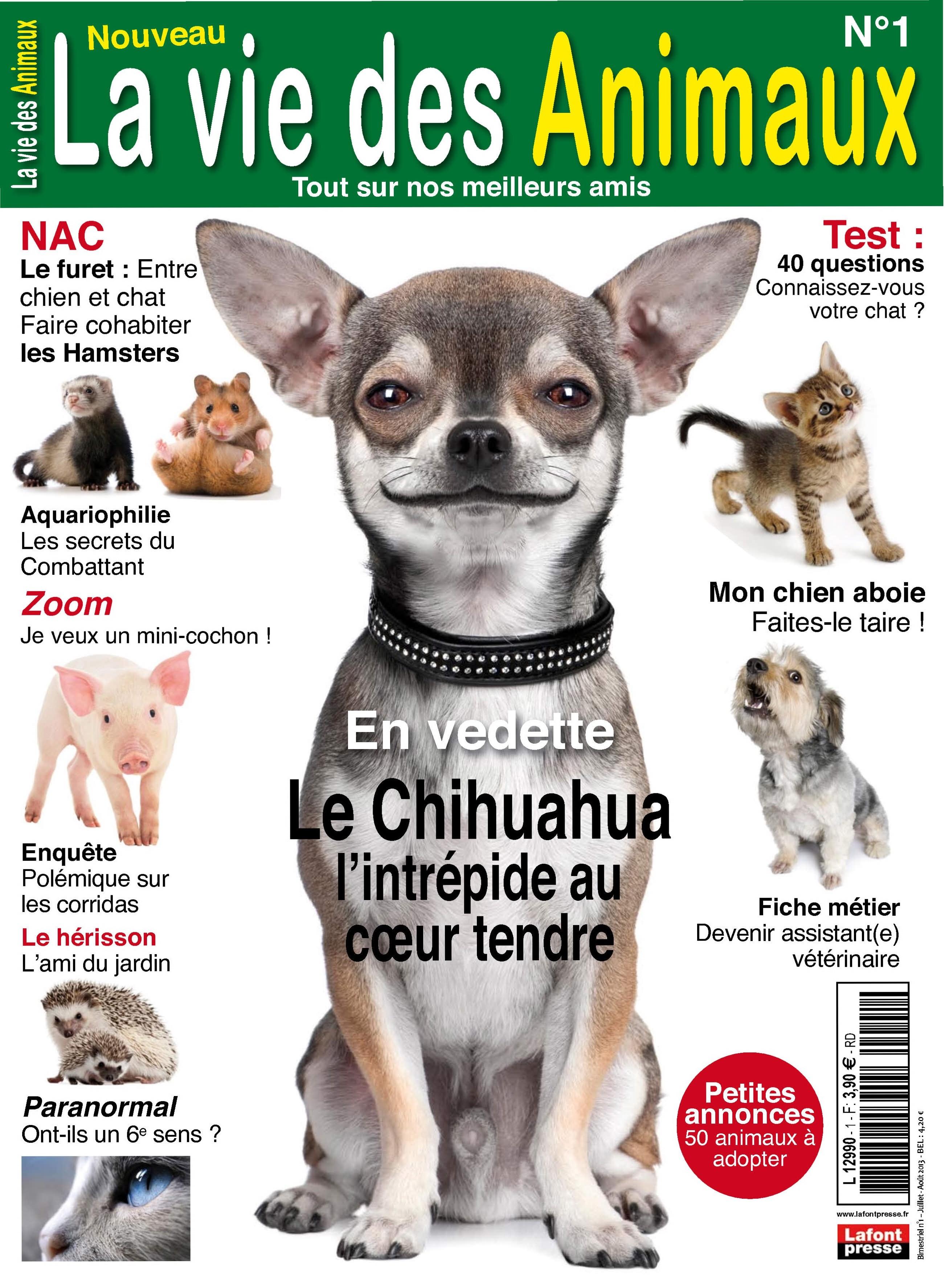 Magazine la vie des animaux N1