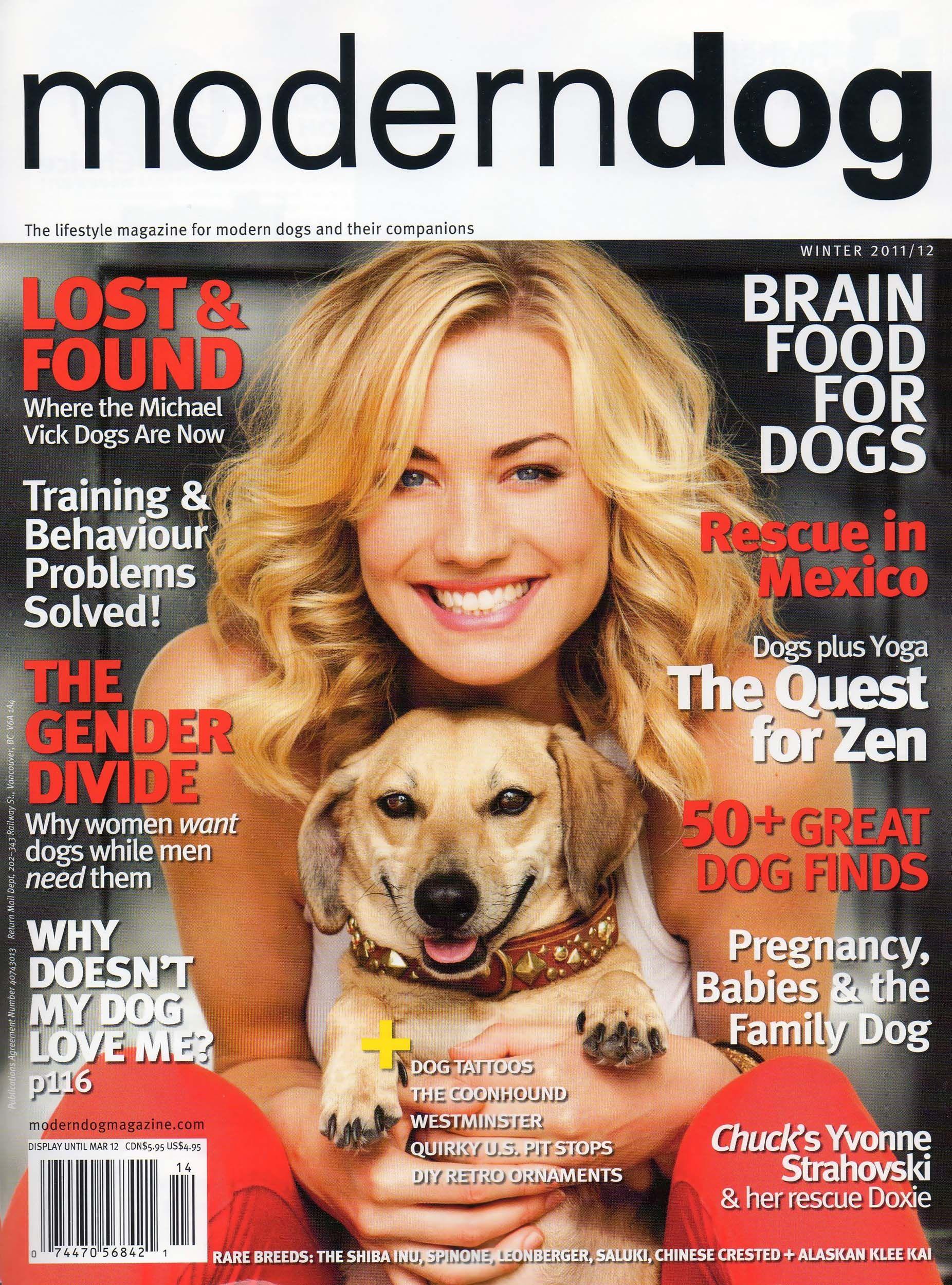 Magazine moderndog - Luxe TouTou